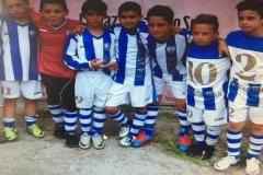 Chicco Semeraro con la maglia della Bs soccer team Fasano